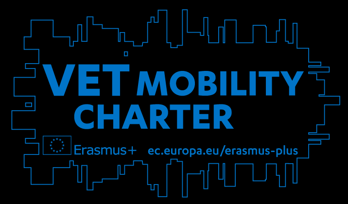 VET (Vocational Education and Training) Mobility Charter Logo